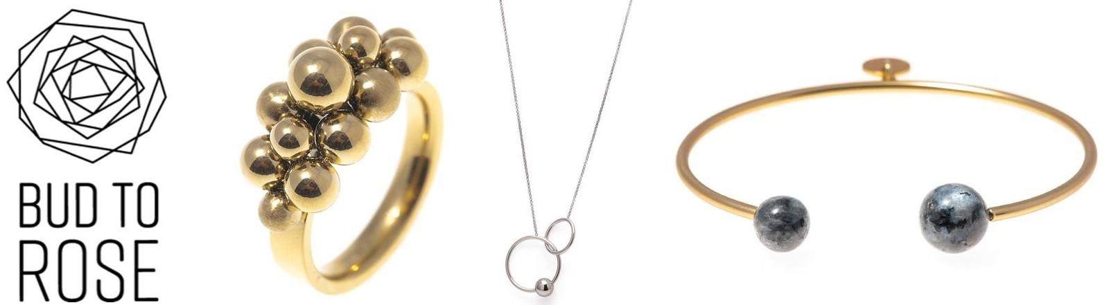 Smycken från BUD TO ROSE